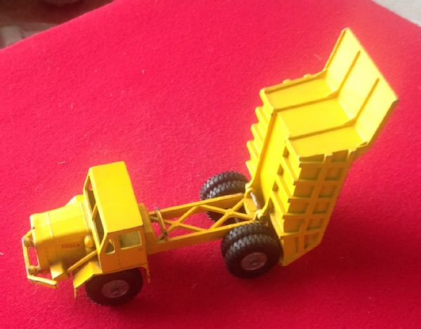Matchbox Kingsize No 5 - Original - Foden dumper truck